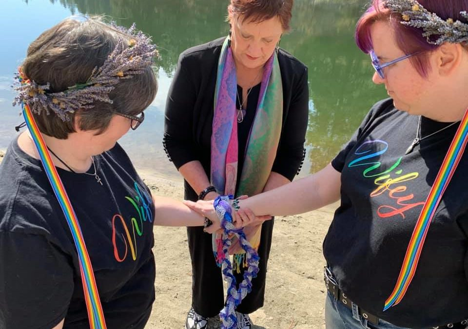 Handfasting:  An Old Tradition with a New Twist
